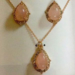 Adrienne Vittadini necklace & earrings set NWT